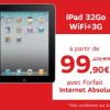 SFR : Votre iPad 3G à petit prix avec forfaits