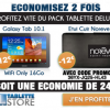 TABLETTE STORE : 24 euros d'économie sur le pack tablette Deluxe avec la Samsung Galaxy Tab 10.1