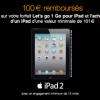 ORANGE : Offre de remboursement de 100 euros sur l'iPad