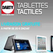DARTY : Toutes les nouveautés sur les tablettes tactiles