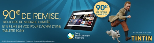 Sony Tablet S : remise